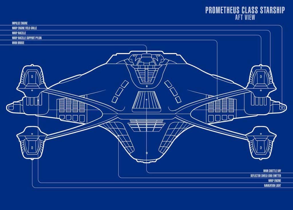 Prometheus - Aft View