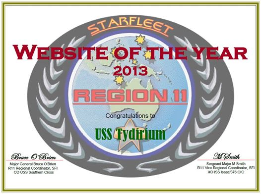 Region 11 - Website of the Year - 2013