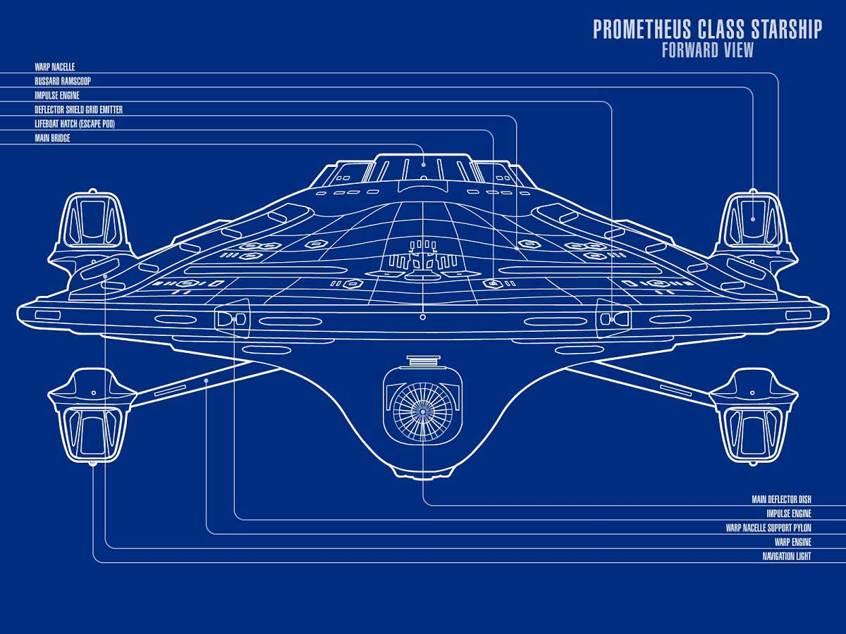 Prometheus - Forward View